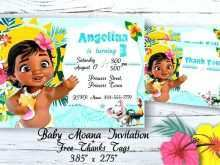 84 Online Baby Moana Birthday Invitation Template Now by Baby Moana Birthday Invitation Template