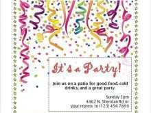 84 Online Birthday Invitation Template Google Docs Maker with Birthday Invitation Template Google Docs