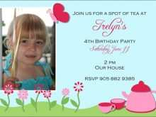 Birthday Invitation Templates For 2 Years Old Girl