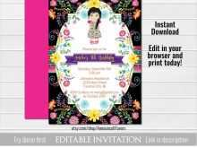 Etsy Birthday Invitation Template