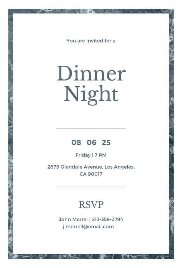 85 Create Corporate Dinner Invitation Example Templates by Corporate Dinner Invitation Example