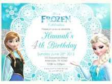85 Creating Birthday Invitation Templates Elsa in Word by Birthday Invitation Templates Elsa