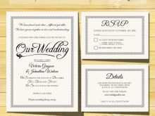 85 Creating Wedding Invitation Template Rsvp For Free with Wedding Invitation Template Rsvp