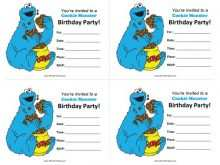 85 Customize Our Free Monster Birthday Invitation Template Photo with Monster Birthday Invitation Template