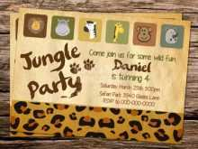 85 Free Zoo Birthday Party Invitation Template For Free with Zoo Birthday Party Invitation Template
