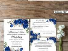 85 Online Boho Wedding Invitation Template For Free by Boho Wedding Invitation Template