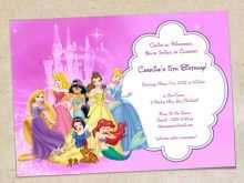85 Report Birthday Invitation Template Disney Layouts by Birthday Invitation Template Disney