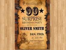 85 Report Western Theme Party Invitation Template Now by Western Theme Party Invitation Template