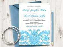 Wedding Invitation Template Victorian