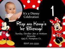 86 Free Birthday Invitation Template Minnie Mouse in Word with Birthday Invitation Template Minnie Mouse