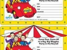 86 Free Wiggles Birthday Invitation Template in Word with Wiggles Birthday Invitation Template