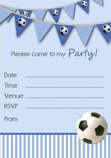 86 Printable Birthday Party Invitation Template Boy Maker for Birthday Party Invitation Template Boy