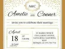 86 Report Elegant Wedding Invitation Template Formating by Elegant Wedding Invitation Template