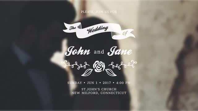 87 Adding Wedding Invitation Template After Effects With Stunning Design for Wedding Invitation Template After Effects