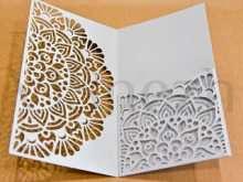 87 Adding Wedding Invitation Template Laser Cut for Ms Word with Wedding Invitation Template Laser Cut