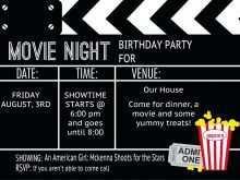 87 Blank Blank Movie Ticket Invitation Template Now for Blank Movie Ticket Invitation Template