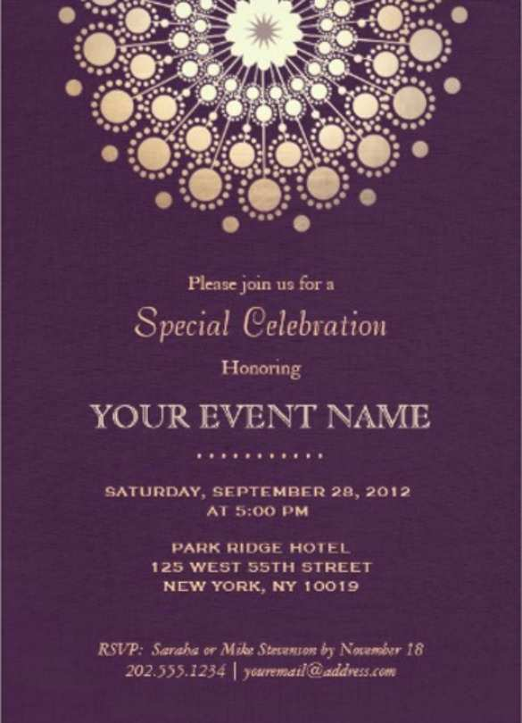 87 Customize Formal Event Invitation Template Photo by Formal Event Invitation Template