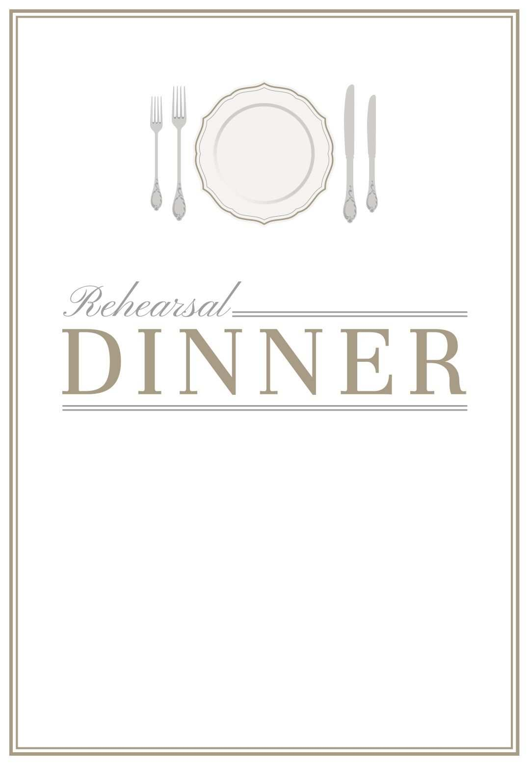 5 Format Dinner Invitation Template Free PSD File by Dinner