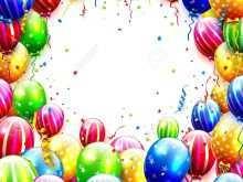 87 Free Birthday Invitation Template Balloons Templates for Birthday Invitation Template Balloons