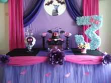 87 Online Vampirina Birthday Invitation Template With Stunning Design for Vampirina Birthday Invitation Template