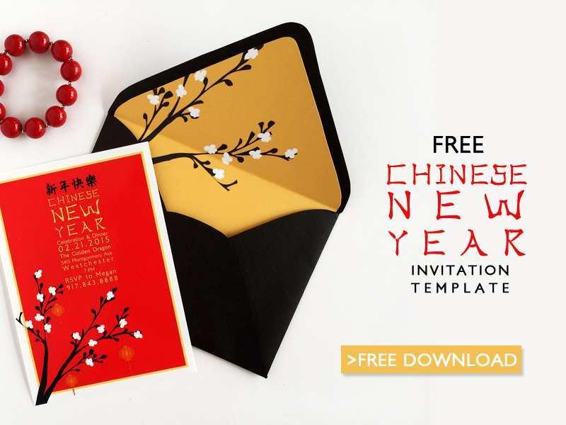 87 Printable Chinese Birthday Invitation Template Maker with Chinese Birthday Invitation Template
