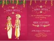87 Printable Indian Wedding Invitation Template Layouts by Indian Wedding Invitation Template