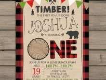 87 Standard Lumberjack Birthday Invitation Template Photo by Lumberjack Birthday Invitation Template