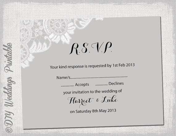 87 Standard Wedding Invitation Template Rsvp in Word for Wedding Invitation Template Rsvp