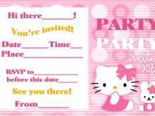 87 The Best Kitty Party Invitation Template Formating with Kitty Party Invitation Template