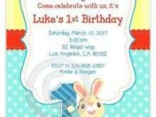 88 Adding Bunny Birthday Invitation Template Free Templates by Bunny Birthday Invitation Template Free