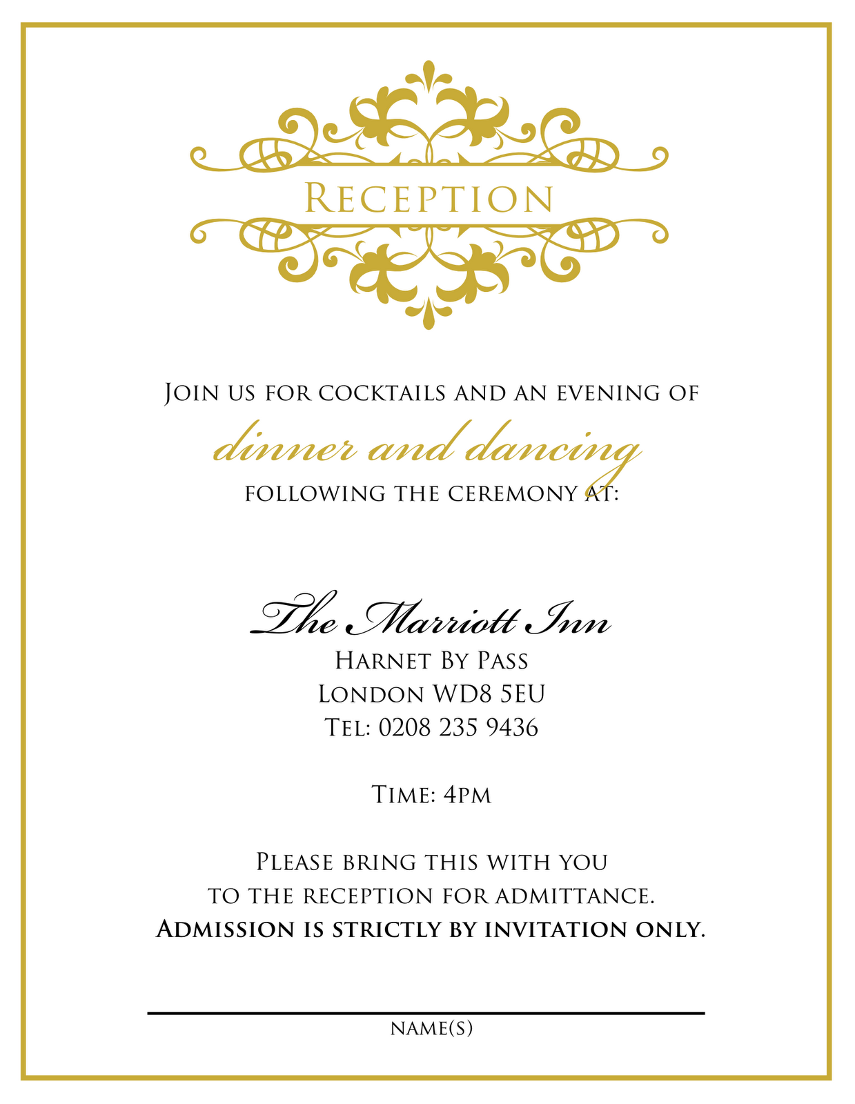 88 Best Elegant Party Invitation Template With Stunning Design by Elegant Party Invitation Template