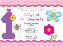 88 Best Free Birthday Invitation Template For Free by Free Birthday Invitation Template