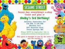 88 Creating Elmo Birthday Invitation Template Maker for Elmo Birthday Invitation Template