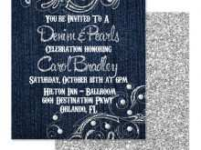 88 Format Denim Party Invitation Template in Word by Denim Party Invitation Template