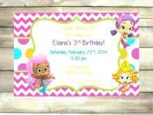 88 How To Create Bubble Guppies Blank Invitation Template Maker for Bubble Guppies Blank Invitation Template