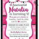 88 Report American Girl Party Invitation Template Free For Free by American Girl Party Invitation Template Free
