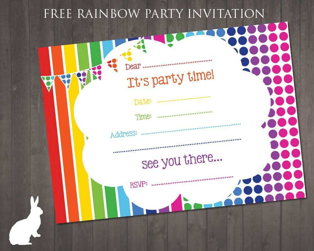88 The Best Birthday Party Invitation Template Art Free Now with Birthday Party Invitation Template Art Free