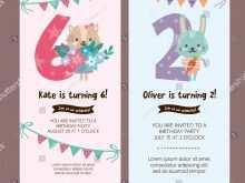 89 Adding Baby Birthday Invitation Card Template Vector in Word with Baby Birthday Invitation Card Template Vector
