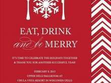 Work Xmas Party Invitation Template