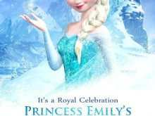 Birthday Invitation Template Frozen