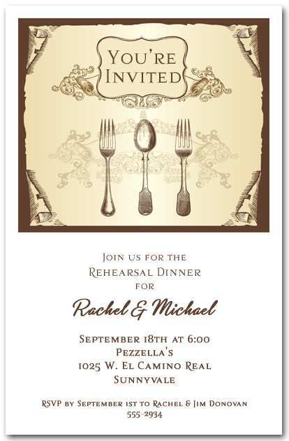 89 Customize Example Invitation Dinner Party Layouts by Example Invitation Dinner Party