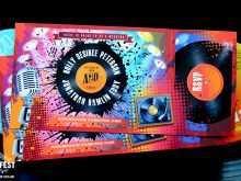 89 Customize Vinyl Record Wedding Invitation Template For Free with Vinyl Record Wedding Invitation Template