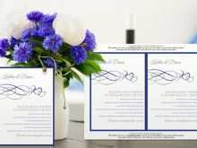 89 Free Printable Royal Blue Wedding Invitation Template in Photoshop with Royal Blue Wedding Invitation Template