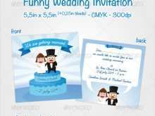 89 The Best Unique Wedding Invitation Card Template Maker with Unique Wedding Invitation Card Template