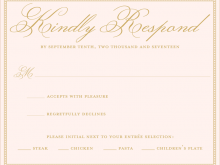 Dinner Invitation Response Sample