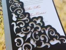90 Adding Wedding Invitation Template Laser Cut Layouts with Wedding Invitation Template Laser Cut