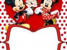 90 Best Minnie Mouse Birthday Invitation Template Formating with Minnie Mouse Birthday Invitation Template