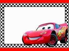 90 Blank Cars Birthday Invitation Template Free For Free for Cars Birthday Invitation Template Free