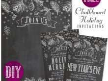 90 Creating Blank Chalkboard Invitation Template For Free with Blank Chalkboard Invitation Template