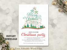 90 Customize Christmas Party Invitation Template Download Maker for Christmas Party Invitation Template Download